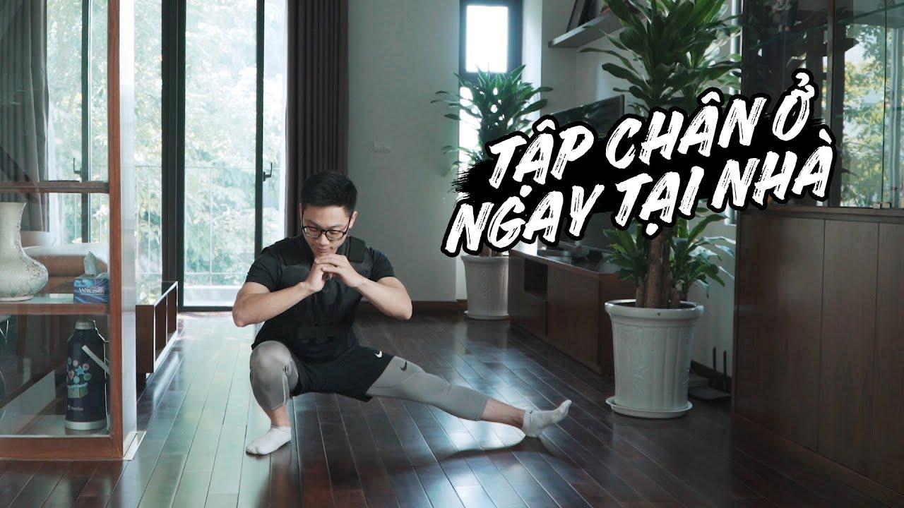 Hướng dẫn TẬP CHÂN NGAY TẠI NHÀ cho cả Nam và Nữ   Leg Workout At Home   SHINPHAMM