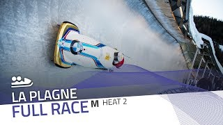 La Plagne | BMW IBSF World Cup 2019/2020 - 2-Man Bobsleigh Heat 2 | IBSF Official