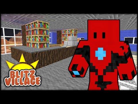 Minecraft - BLITZVILLAGE -  Episode 11 - The Police Chief Office!
