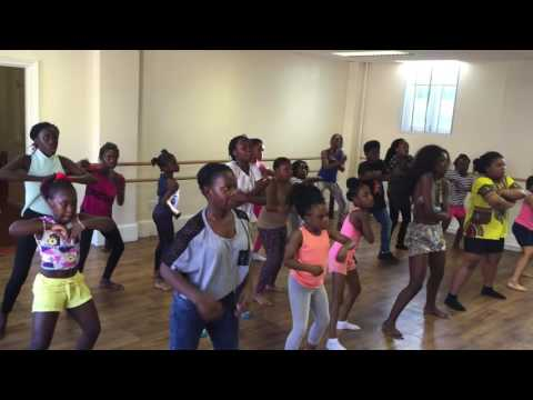 Barbie Girl Afro Remix- Kids Dance Choreography by Sherrie Silver thumbnail