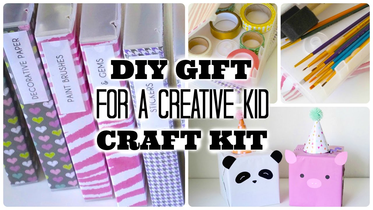 Diy Gift For A Creative Kid Recycled Vhs Cases To Craft Kits Youtube