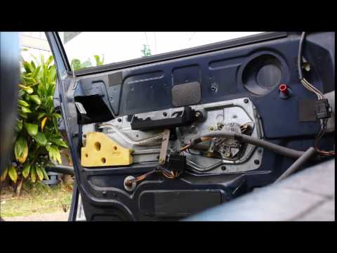 1996 Volvo 850 Car Door Latch Repair Youtube