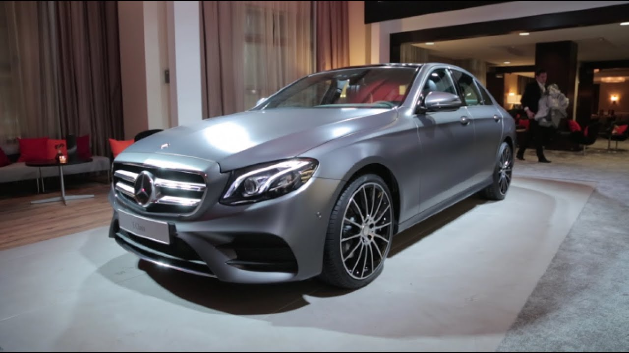 MercedesBenz EClass Detroit Auto Show YouTube - Mercedes benz car show