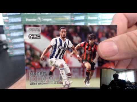 2016-17 TOPPS STADIUM CLUB PREMIER LEAGUE EPL SOCCER 16 BOX CASE BREAK #2, DEC 26, 2016