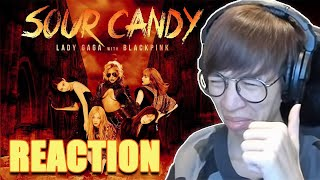 Baixar Lady Gaga, BLACKPINK - Sour Candy   Viruss Reaction Kpop