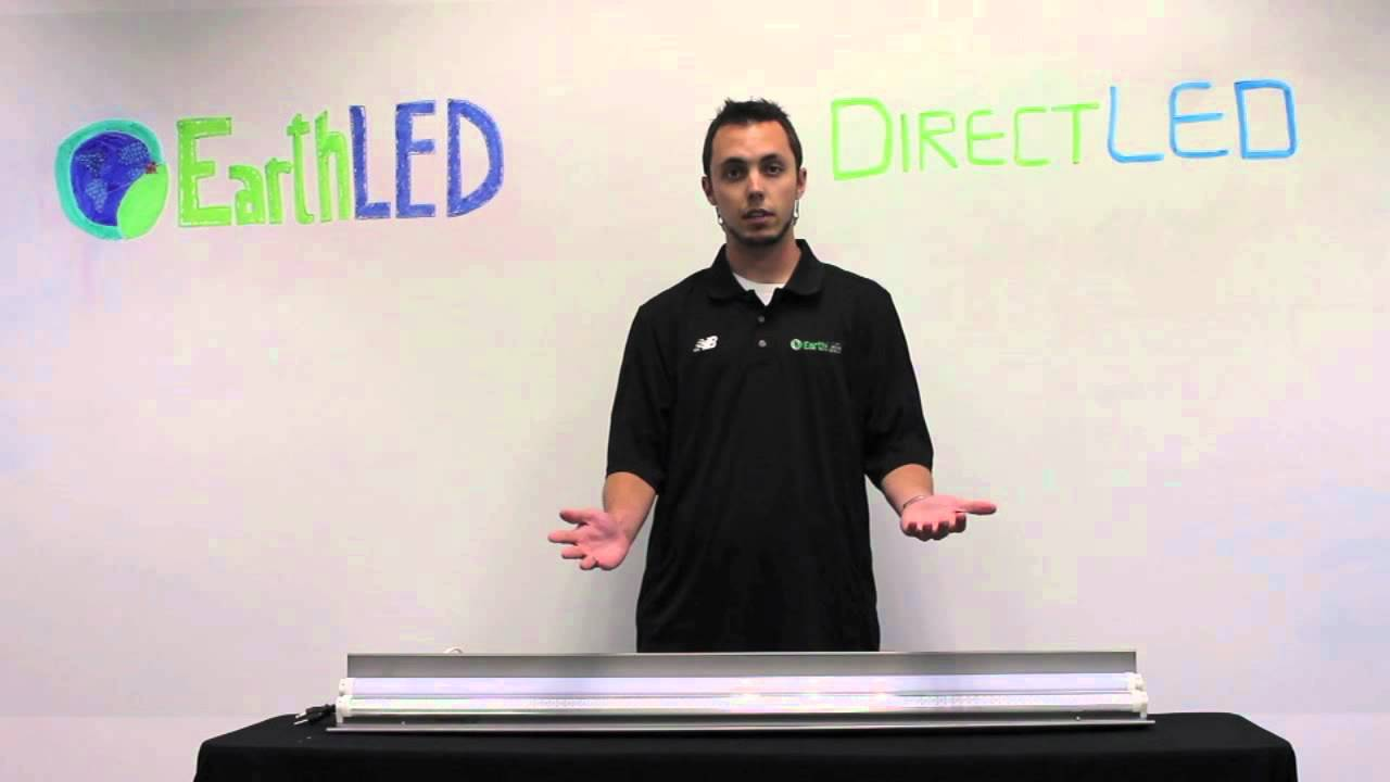 Directled Fl Led T8 T10 T12 Fluorescent Replacement Tube Youtube Direct Wiring Diagram Light