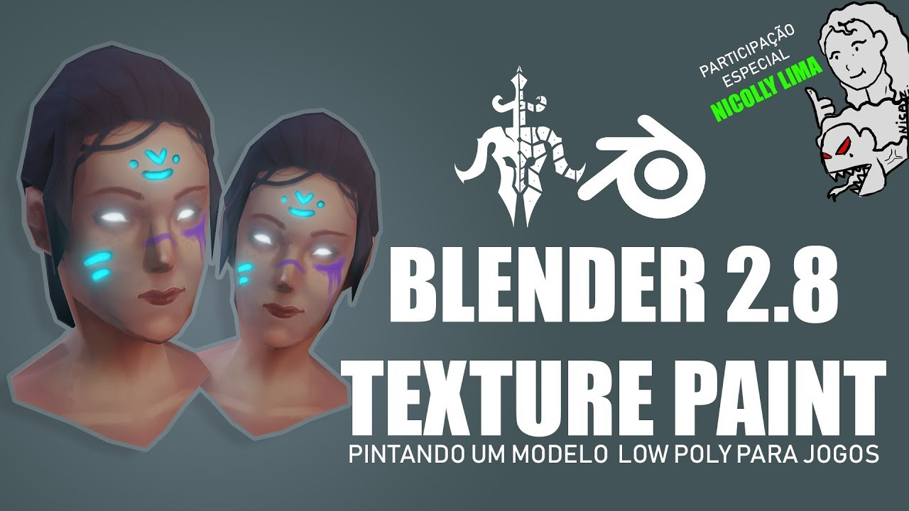 TEXTURE PAINT BLENDER 2 8 LOW POLY