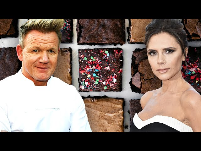 Which Celebrity Has The Best Brownie Recipe?