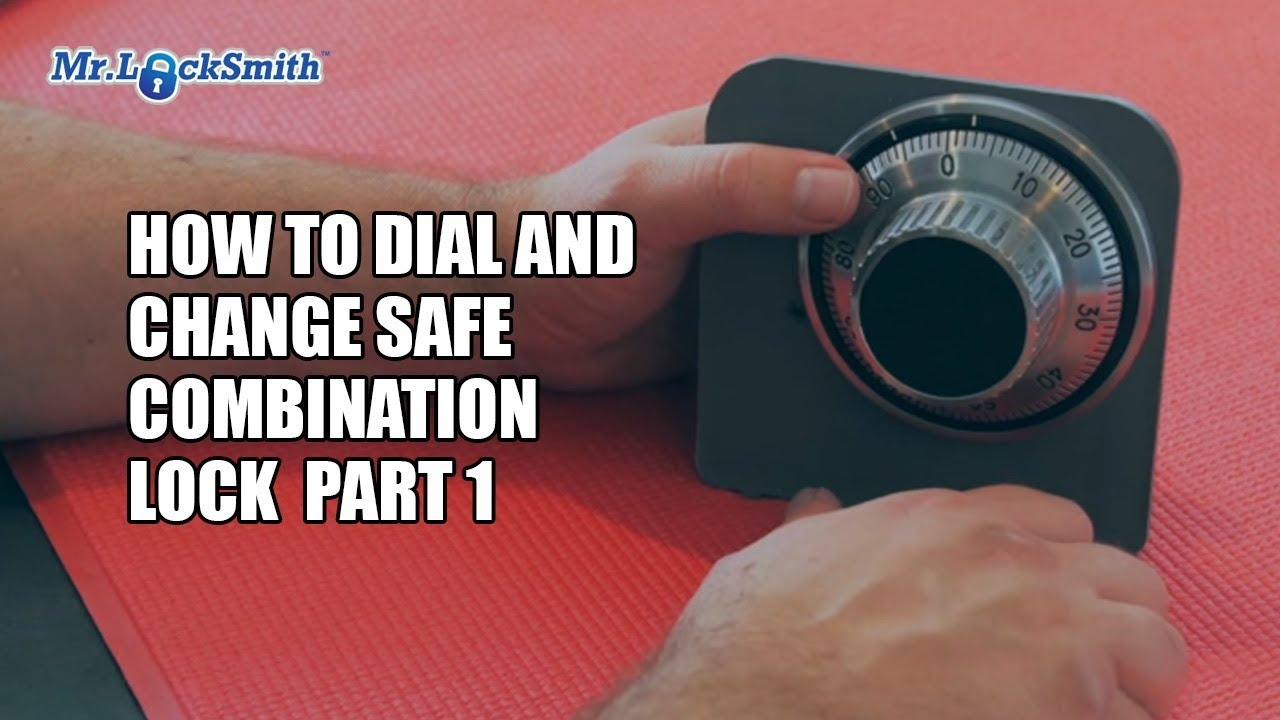 How to Dial and Change Safe Combination Lock Part 001 | Mr