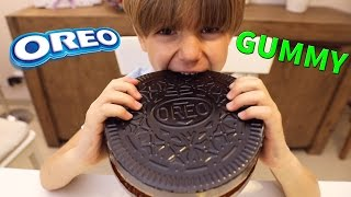 Giant GUMMY OREO made of Coca-Cola - How To Make IT