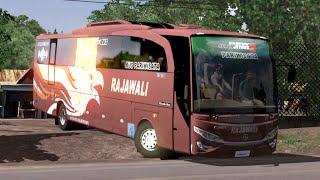 ETS 2   Adiputro Jet Bus HD 2 Rajawali Jalan - jalan Pagi di Pelabuhan Ratu