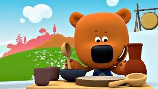 Ми ми мишки Лучшие серии о полезной и вредной еде мультики для детей