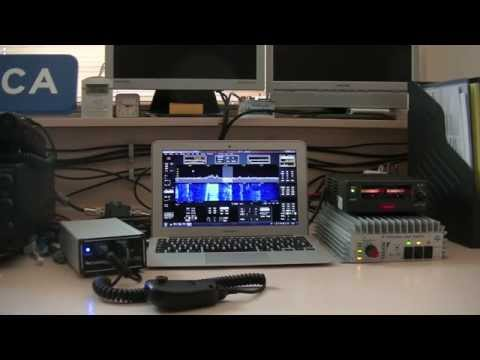First use of my Flex 1500 SDR Transceiver