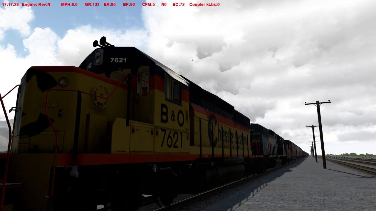 Run 8 Train Simulator - Processing Locals