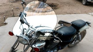 Building a Plexiglass Windshield For $27 | Motorcycle Windshield