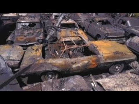 Massive Five Alarm Fire Destroys Over Classic Cars Youtube