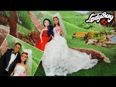 Alya Wedding Day Morning Miraculous Ladybug Wedding Dress Le Mariage d'Alya enfin avec Nino thumbnail