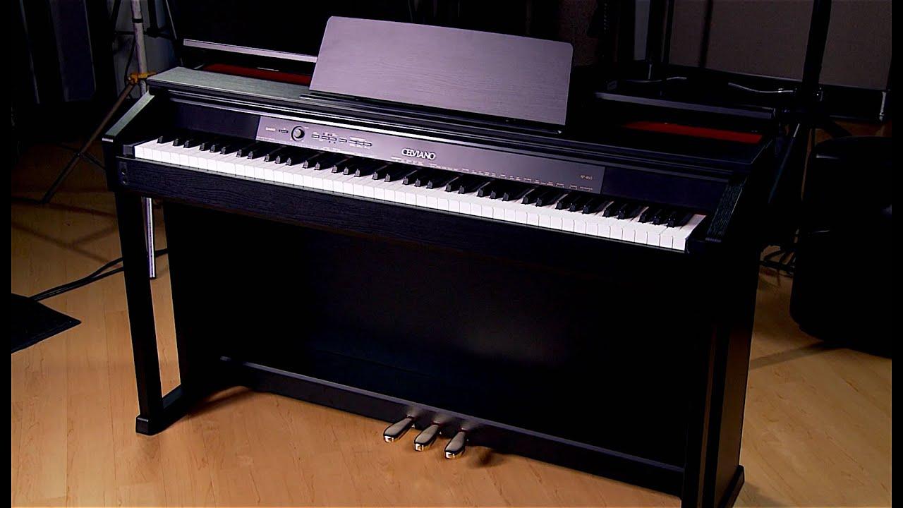 casio celviano ap 460 digital piano demo youtube. Black Bedroom Furniture Sets. Home Design Ideas
