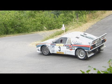 10° Rally Due Valli Historic 2015 - With Pure Engine Sound - [HD]