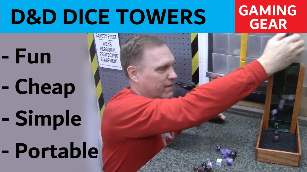 Portable Dice Towers – Collapsible Gaming Gear