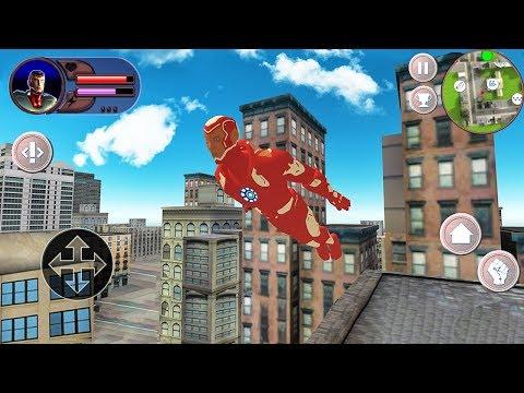 Iron Man Hero Battle Story - Android Gameplay
