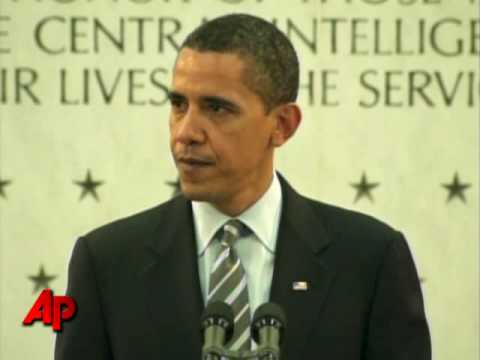 Obama Thanks CIA for Work Against America's Foes