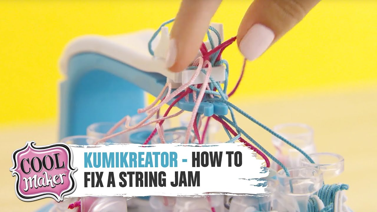 Cool Maker | KumiKreator | How to Fix a String Jam