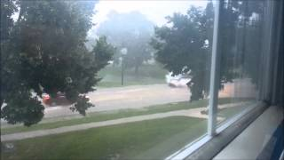 Cedar Rapids Iowa Flash Flooding (June 30, 2014)