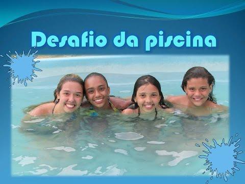 Desafio da piscina - As Aventuras de Ana Paula Rodrigues