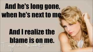 Taylor Swift I knew you were Trouble Instrumental/ Lyrics