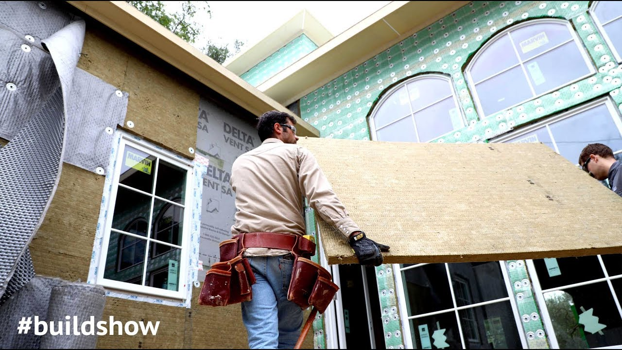 Roxul exterior insulation vs foam youtube for Roxul mineral wool r value