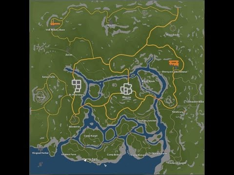 unturned russia map secrets Unturned Russia Map Best Hidden Places You Can Build A Base Youtube