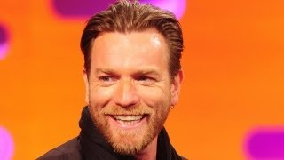 EWAN McGREGOR: Fly Fishing... for Cymbals?! (The Graham Norton Show)