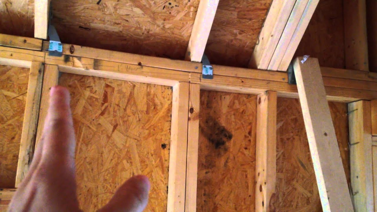 How to Build A Tiny House Episode 23 Loft Framing Extension