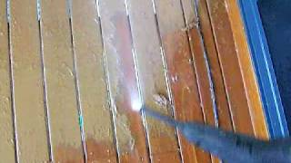 How To Remove And Strip Paint From The Deck The Easy Way Using A Pressure Washer