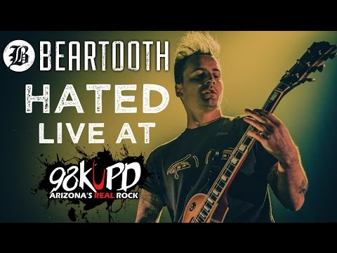 Beartooth Peforming Hated Live At 98 KUPD
