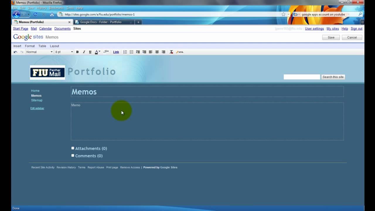 creating a portfolio google sites creating a portfolio google sites