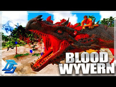 Blood Crystal Wyvern Tame!  Catch'em All  - Ark Survival Evolved -Iso: Crystal Isles - Part 13