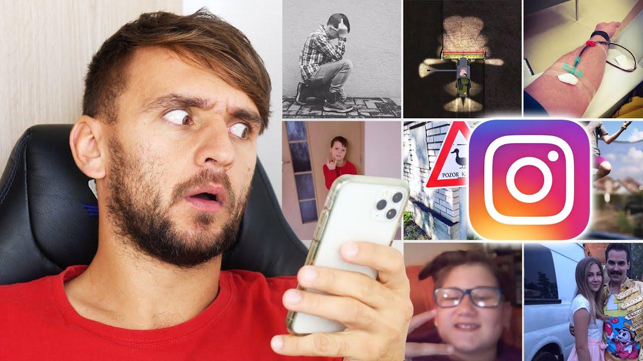 Prohlížím si Instagramy mých fanoušků!