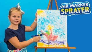 ASSISTANT Crayola Marker Spray Painter Learn Colors with TheEngineeringFamily
