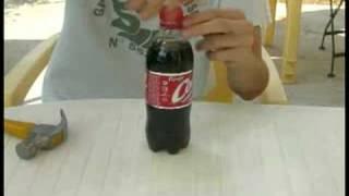 Comment piéger une bouteille de Coca