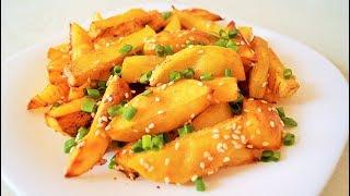 Картофельные дольки в духовке БЕЗ МАСЛА | ОБЪЕДЕНИЕ!!!