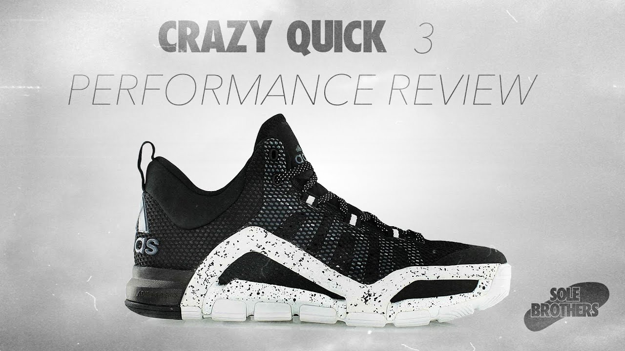 design intemporel e6c2d e77fc Adidas CrazyQuick 3 Performance Review!