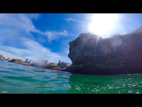 GoPro: Cliff Jumping Biarritz
