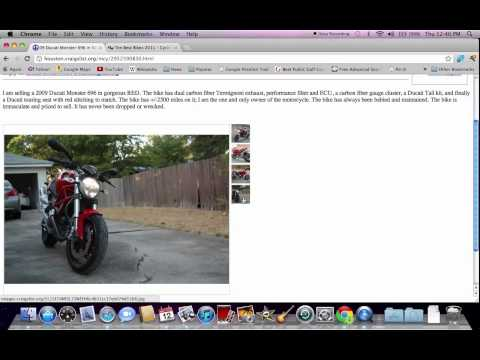 Craigslist Lake City Florida Used Cars How To Search For Vehicles Youtube There are several things to be aware of when browsing classifieds for a used motorcycle. craigslist lake city florida used cars