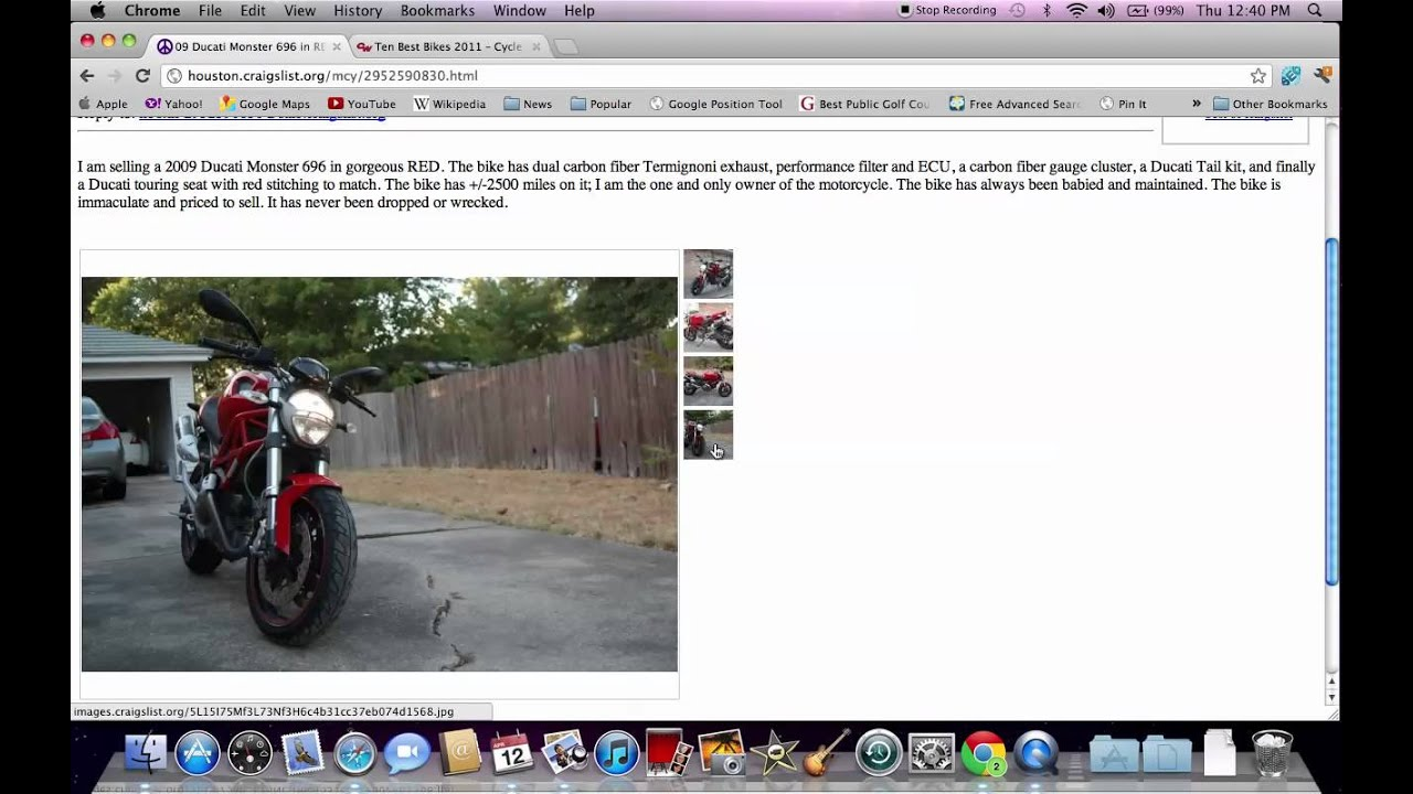 Craigslist Ducati Used Motorcycles Offers Under 10 000 For