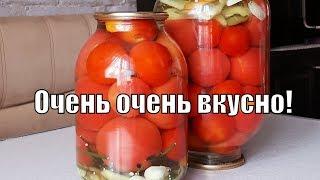 Отвечаю на самый задаваемый вопрос по поводу рецепта помидоров !