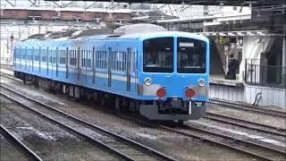 2021年4月17日 EF652087号機 牽引 近江鉄道色N101系 西武多摩川線車両交換甲種 新秋津 八王子にて