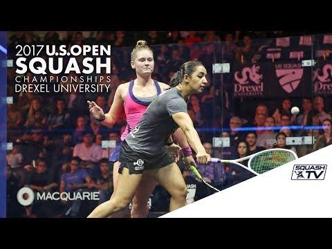 Squash: Women's Round 1 Roundup Pt. 2 - U.S. Open Squash 2017