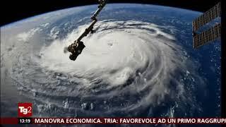 TG2 - USA 11/09/2018 - uragano Florence: un milione di evacuati negli states Carolina Sud e Nord